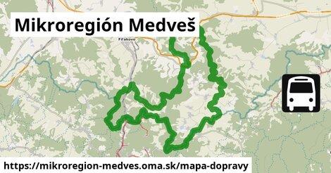 ikona Mapa dopravy mapa-dopravy  mikroregion-medves