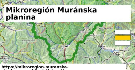 ikona Turistická mapa turisticky-atlas  mikroregion-muranska-planina