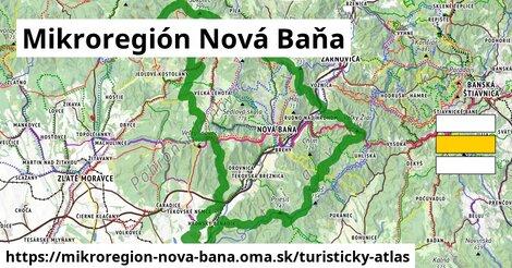 ikona Turistická mapa turisticky-atlas  mikroregion-nova-bana
