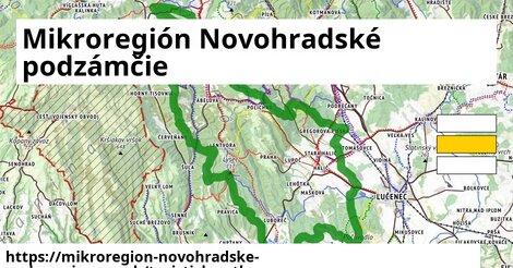 ikona Mikroregión Novohradské podzámčie: 74km trás turisticky-atlas  mikroregion-novohradske-podzamcie
