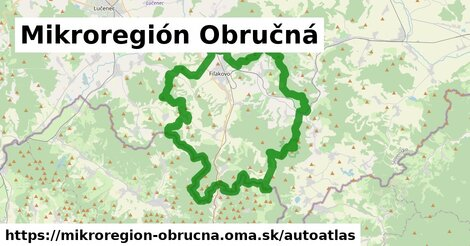 ikona Mapa autoatlas  mikroregion-obrucna
