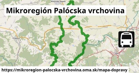 ikona Mikroregión Palócska vrchovina: 6,8km trás mapa-dopravy  mikroregion-palocska-vrchovina