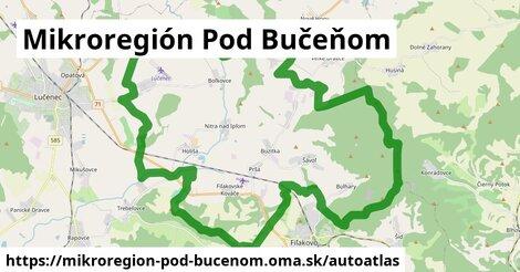 ikona Mapa autoatlas  mikroregion-pod-bucenom