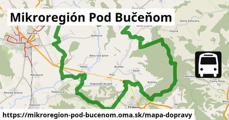 ikona Mapa dopravy mapa-dopravy  mikroregion-pod-bucenom