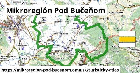 ikona Turistická mapa turisticky-atlas  mikroregion-pod-bucenom