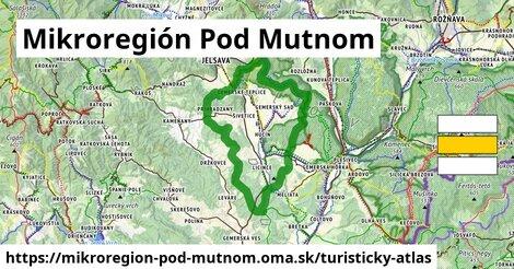 ikona Turistická mapa turisticky-atlas  mikroregion-pod-mutnom