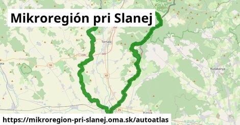 ikona Mapa autoatlas  mikroregion-pri-slanej