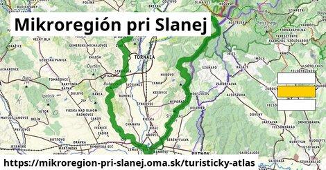 ikona Turistická mapa turisticky-atlas  mikroregion-pri-slanej