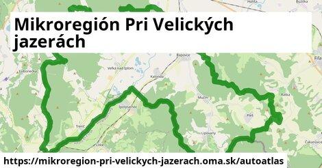 ikona Mapa autoatlas  mikroregion-pri-velickych-jazerach