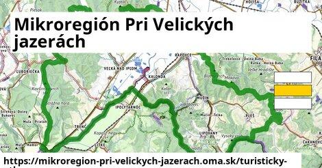 ikona Turistická mapa turisticky-atlas  mikroregion-pri-velickych-jazerach