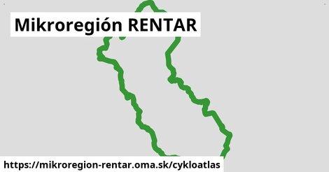 ikona Mikroregión RENTAR: 111km trás cykloatlas  mikroregion-rentar