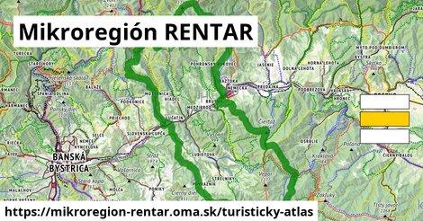 ikona Mikroregión RENTAR: 114km trás turisticky-atlas  mikroregion-rentar