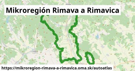 ikona Mapa autoatlas  mikroregion-rimava-a-rimavica