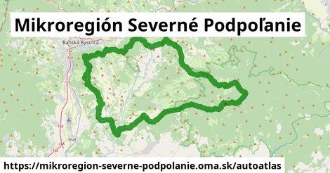 ikona Mapa autoatlas  mikroregion-severne-podpolanie