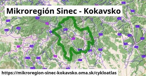 ikona Cykloatlas cykloatlas  mikroregion-sinec-kokavsko