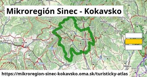 ikona Turistická mapa turisticky-atlas  mikroregion-sinec-kokavsko