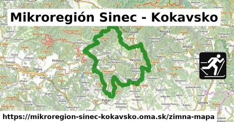 ikona Zimná mapa zimna-mapa  mikroregion-sinec-kokavsko