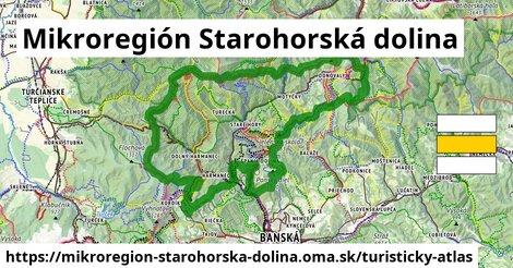 ikona Turistická mapa turisticky-atlas  mikroregion-starohorska-dolina