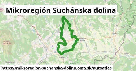 ikona Mapa autoatlas  mikroregion-suchanska-dolina