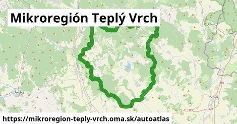 ikona Mapa autoatlas  mikroregion-teply-vrch