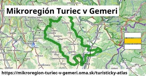 ikona Turistická mapa turisticky-atlas  mikroregion-turiec-v-gemeri