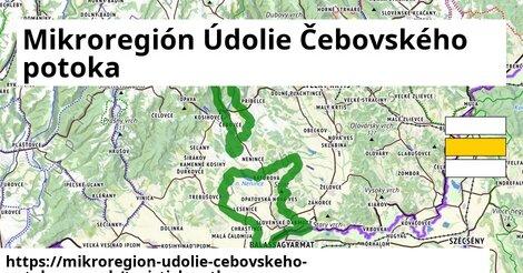 ikona Turistická mapa turisticky-atlas  mikroregion-udolie-cebovskeho-potoka