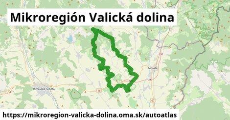 ikona Mapa autoatlas  mikroregion-valicka-dolina