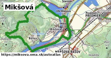 ikona Mapa autoatlas  miksova
