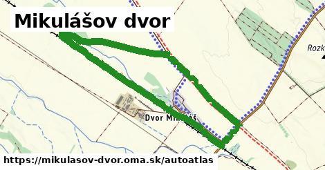 ikona Mapa autoatlas  mikulasov-dvor