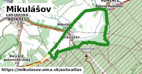 ikona Mapa autoatlas  mikulasov