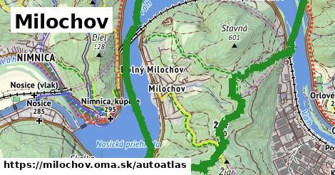 ikona Mapa autoatlas  milochov