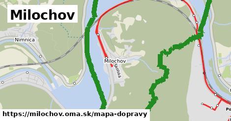 ikona Mapa dopravy mapa-dopravy  milochov