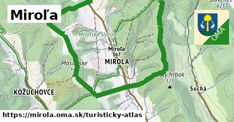 ikona Turistická mapa turisticky-atlas  mirola