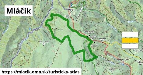 ikona Turistická mapa turisticky-atlas  mlacik