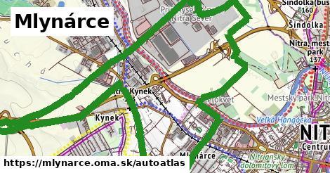 ikona Mapa autoatlas  mlynarce