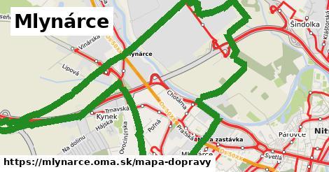 ikona Mapa dopravy mapa-dopravy  mlynarce