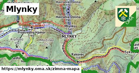 ikona Zimná mapa zimna-mapa  mlynky