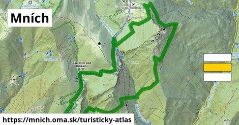 ikona Turistická mapa turisticky-atlas  mnich