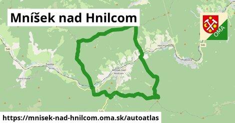 ikona Mapa autoatlas  mnisek-nad-hnilcom