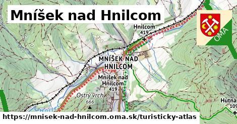 ikona Turistická mapa turisticky-atlas  mnisek-nad-hnilcom