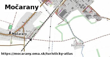 ikona Močarany: 0m trás turisticky-atlas v mocarany