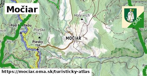 ikona Turistická mapa turisticky-atlas  mociar