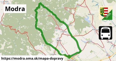 ikona Modra: 159km trás mapa-dopravy  modra