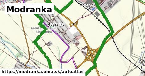 ikona Mapa autoatlas  modranka