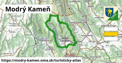 ikona Turistická mapa turisticky-atlas  modry-kamen