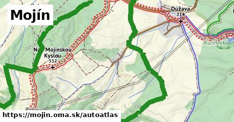 ikona Mapa autoatlas  mojin