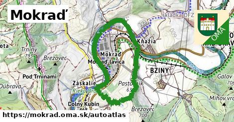 ikona Mapa autoatlas  mokrad
