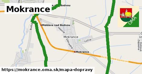 ikona Mapa dopravy mapa-dopravy  mokrance