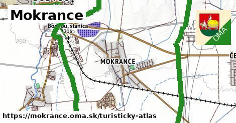 ikona Turistická mapa turisticky-atlas  mokrance