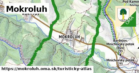 ikona Turistická mapa turisticky-atlas  mokroluh